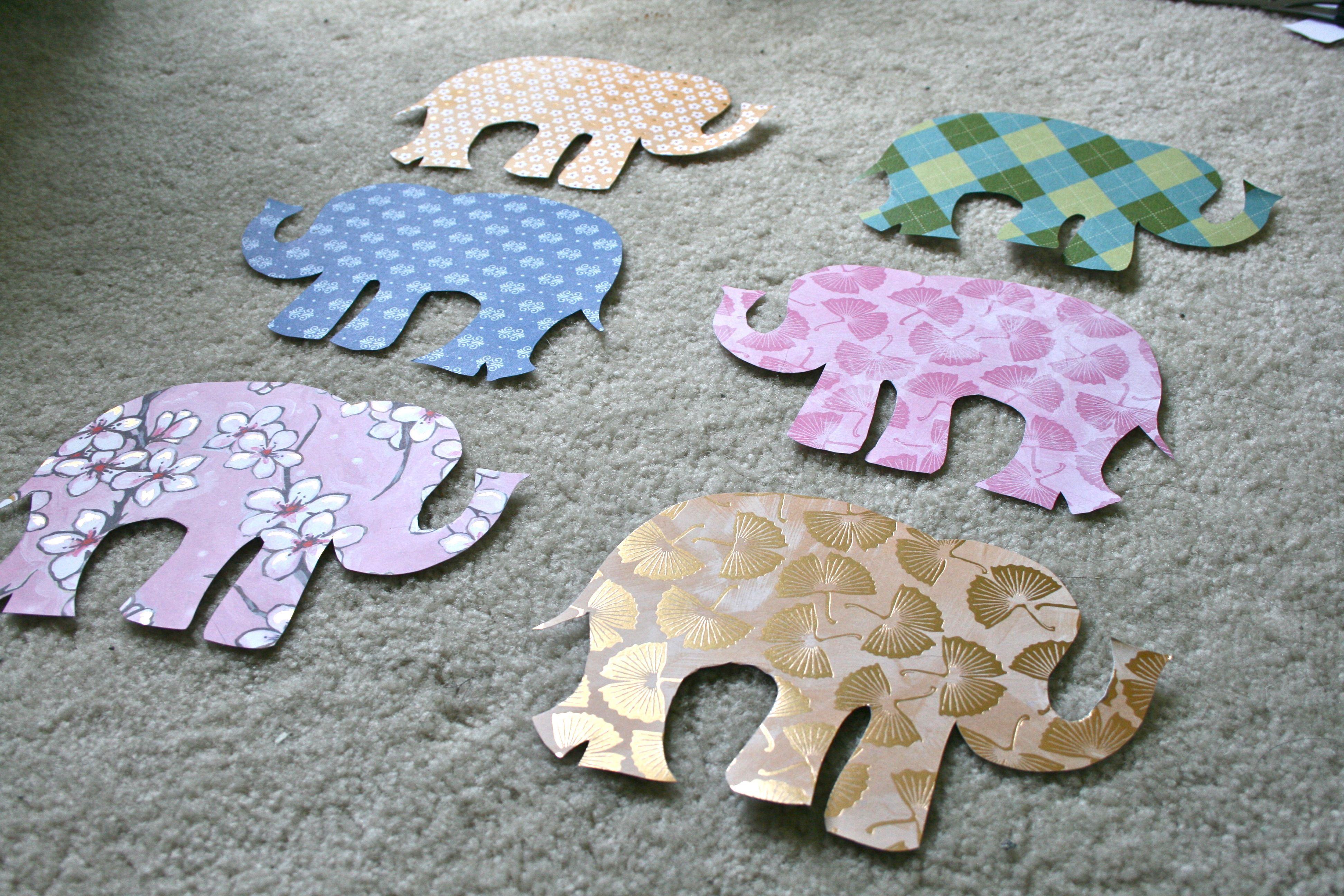 Oh And You May Notice That Some Of The Elephants Are Facing A Different Direction I Thought It Would Be Fun To Give Finished Collection An