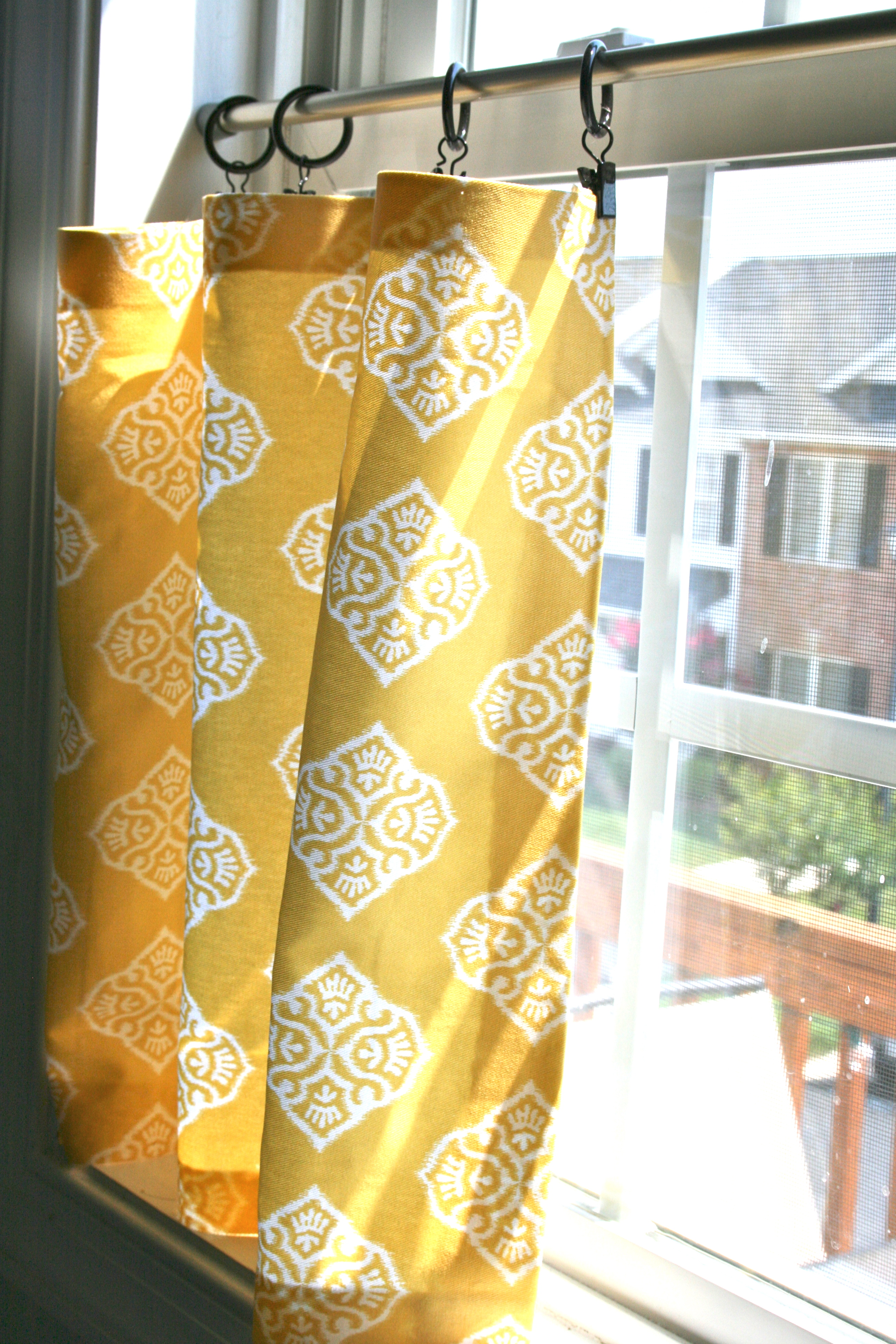 Pinspiration Monday No Sew Cafe Curtains Dream Green DIY