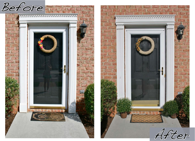 fall time curb appeal dream green diy