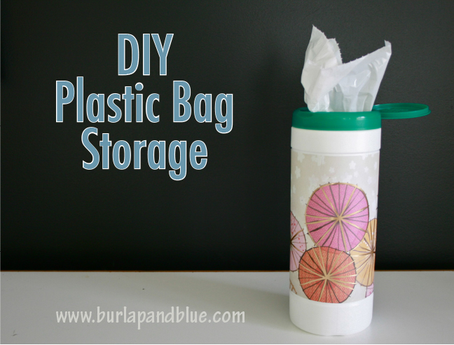 Genial DIY Plastic Bag Storage