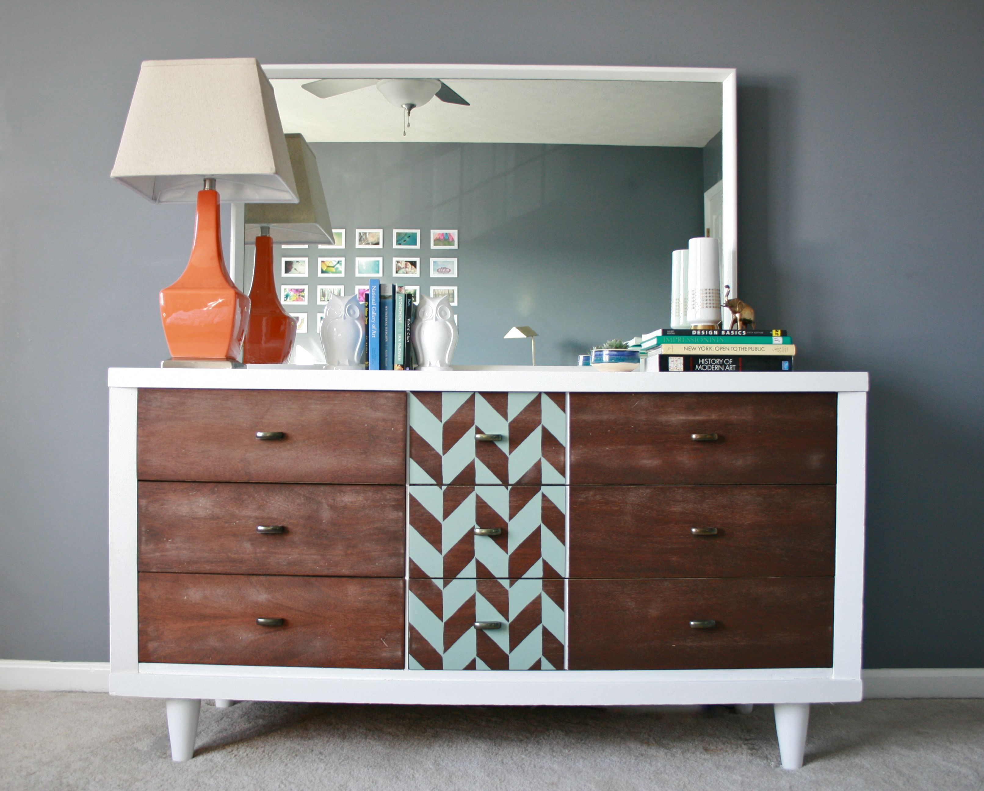 A Modern Mid Century Makeover